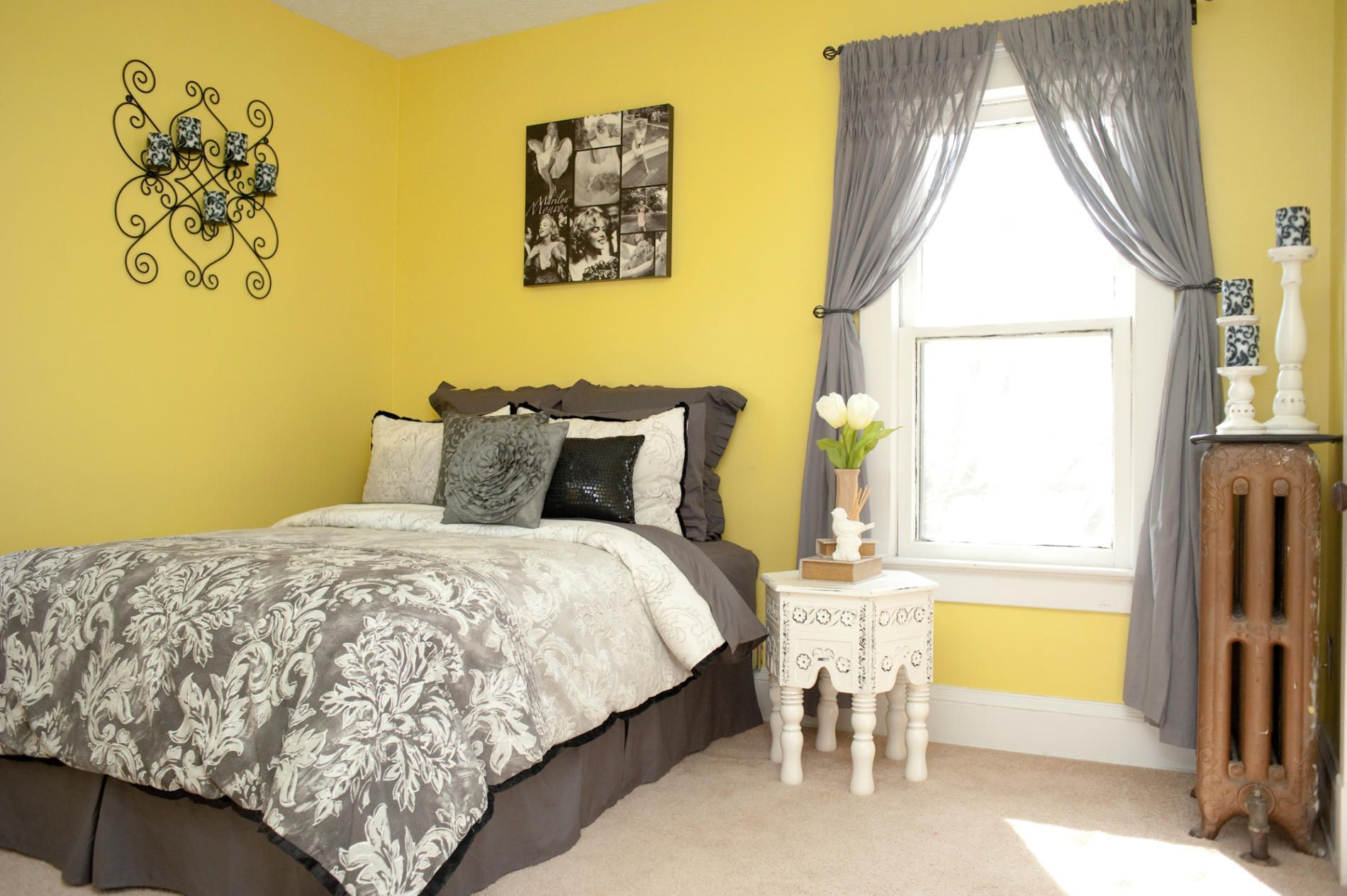 spare-bedroom-decorating-ideas-yellow-colour